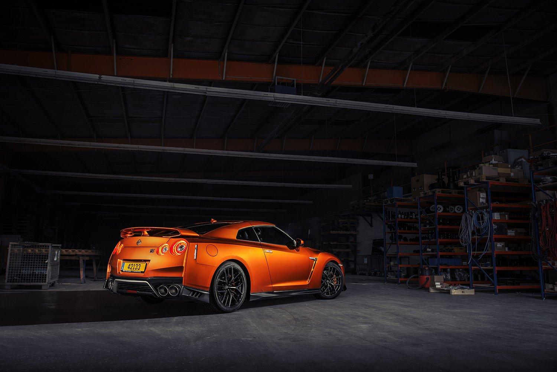 Kaida - 2017 Nissan GTR - in warehouse
