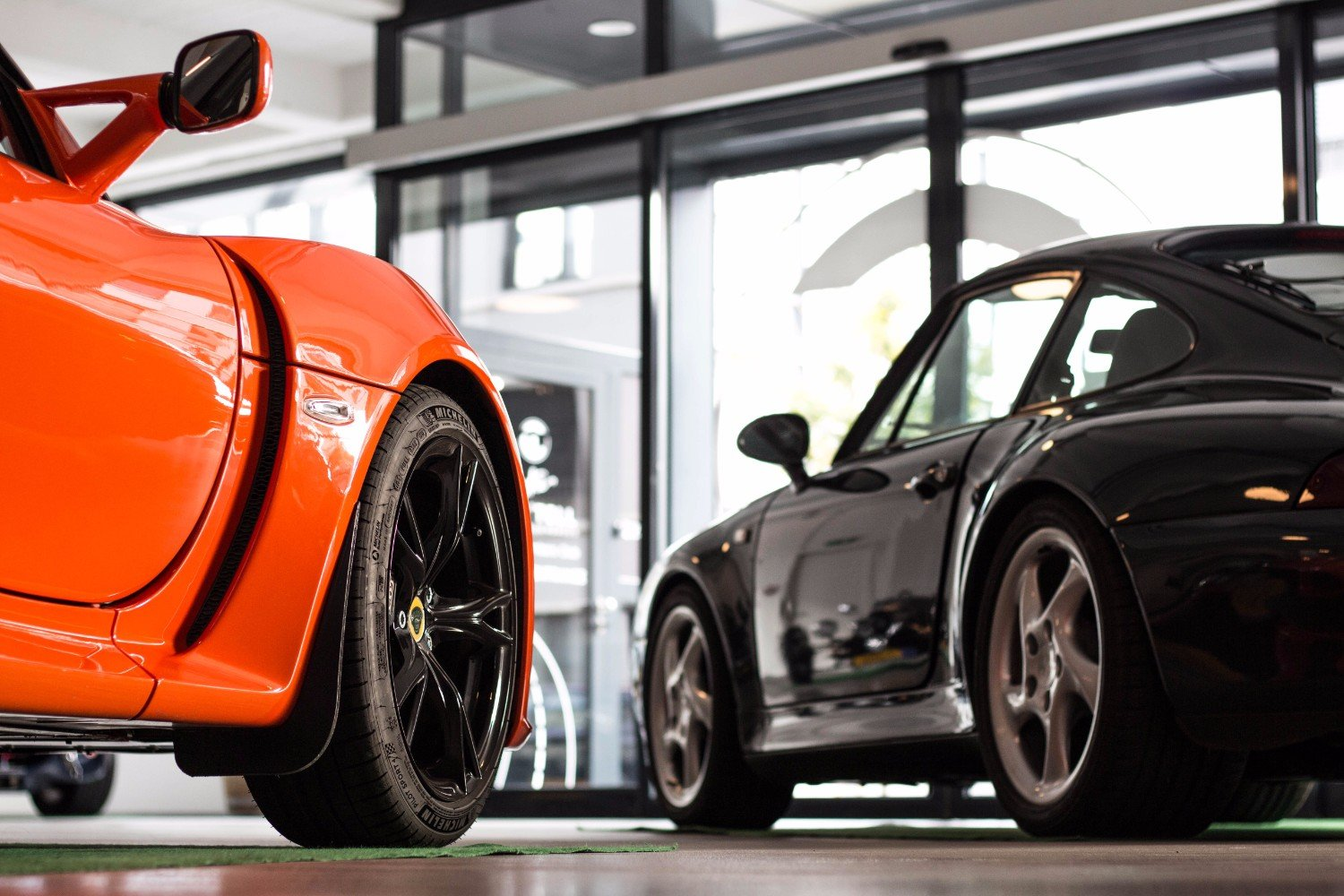 In the Clubhouse with our Exige S