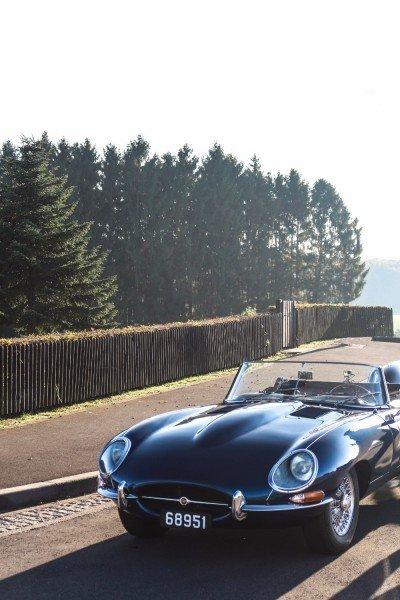Sunday afternoon drive Jaguar E-type