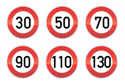 Les limitations de vitesse et leur effets secondaires