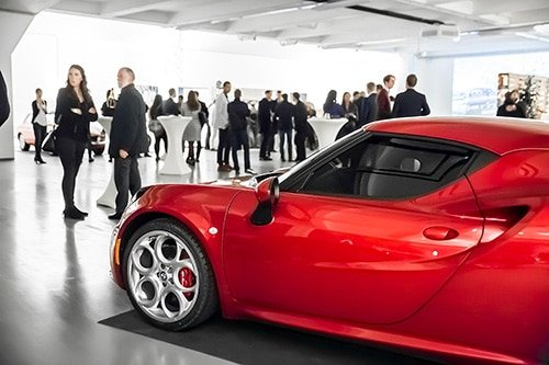 Networking at the Club - Our events - So much more than a car rental