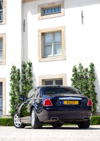 Back in court - Emily - Rolls Royce Ghost - Ansembourg Castle