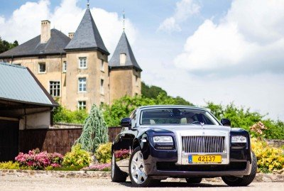 Front - Emily - Rolls Royce Ghost - Ansembourg
