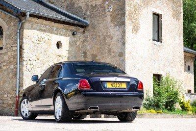 Backside - Emily - Rolls Royce Ghost - Ansembourg