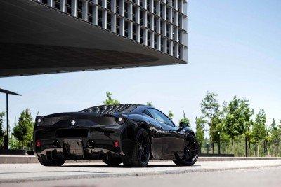 Epona - 2016 Ferrari 458 Speciale - In front of Maison du Savoir - Belval