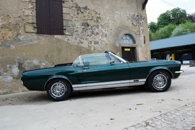 Tilly - 1967 Ford Mustang Convertible V8 - side
