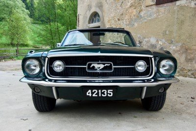 Tilly - 1967 Ford Mustang Convertible V8 - full frontal