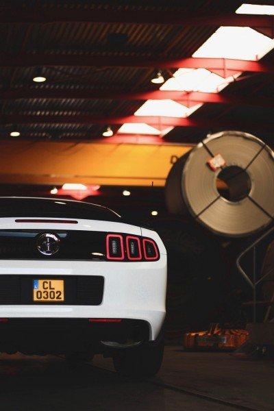 Crystal - 2013 Ford Mustang Boss 302 - rear partial